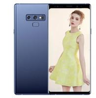 cep telefonu android notları toptan satış-ERQIYU goophone note9 Not 9 Kenar 6.4 inç akıllı telefonlar Android 9.0 smartphone 3 GB RAM 64 GB 2560x1440 4G LTE cep telefonları gösterildi