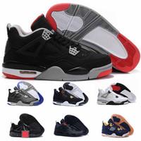 best service 426a5 27c3d Zapatillas de deporte Sneaker 4 Zapatillas de baloncesto para hombres  Tinker og NRG Línea de tiro libre Blanco Cemento negro Fuego Rojo Deporte  True Blue ...
