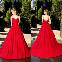 Ruby Red Formal Dress