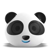 Wholesale bear speakers - Wholesale-Panda DS-180 Digital Speaker USB   SD Card Play Lithium Battery Cartoon Player Cute Little Bear Dual Decode Prenatal Education