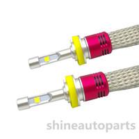 luzes de nevoeiro conduzidas por xenônio venda por atacado-Conjunto Para Cree XHP50 Chip de 104 W 12000LM 6000 k motocicleta Farol H4 H7 H8 / H9 / H11 D1S D2S D3S D4S Carro D4S lâmpada LED Fog Light Substituir Halogéneo de xénon