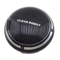 robô limpo venda por atacado-Automático USB Recarregável Robô Inteligente Aspirador de Aspiração Varrer Sucção Casa Inteligente Futuro Digital JULL12