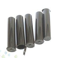 tanques de tubo al por mayor-Cartucho Kingpen Vape Embalaje 710 Cartuchos Tubo negro Embalaje King Pen 92a3 Tubo plástico Ecig vacío para atomizador Depósito de aceite DHL Gratis