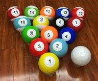 fútbol inflable al aire libre al por mayor-Billar de alta calidad Snookball Billar inflable Snook al aire libre juego Fútbol Football Snooker balones de fútbol con multi color 16 9dl ff
