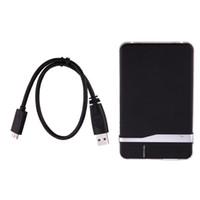 pc sabit diskler toptan satış-Taşınabilir USB 3.0 sata 2.5 inç Sabit Disk Sürücüsü HD Muhafaza Kutusu PC Harici Veri Depolama PC Dizüstü Masaüstü için