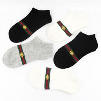Wholesale animal free woman online - 5 Pairs Fashion Men Women Sport sock multi colors Cotton Couple sup luxury brand sock new designer socks Free Size