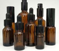 yağ gerekli şişe için damlalık toptan satış-Toptan 5-100 ml Uçucu Yağ Lüks Parfüm Şişesi Damlalık 15-100 ml Sprey Şişe Yüksek Kaliteli Kahverengi Cam Şişe
