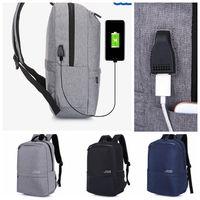 Wholesale gifts for teenage girls online - Casual Women Backpack USB Backpack inch aptop Backpacks For Teenage Girls Gift anti theft schoolbag LJJK924