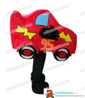 Wholesale funny car sale for sale - adult funny red car mascot costume cartoon mascots deguisement mascotte funny mascot costumes for sale character design mascots maker