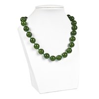 круглые бусины 12 мм оптовых-12 mm A more rounded bead D I Y Malay jasper necklace Women Bring it more noble GLOSS