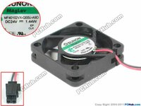Wholesale sunon dc fan - SUNON MF40102VX-Q00U-A9D Server Square Fan DC 24V 1.44W 40x40x10mm 2-wire