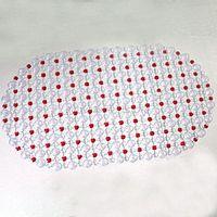 roter plastikboden groihandel-AsyPets Badezimmer Badewanne Rutschfeste Badewanne Boden Blase Dusche Badewanne Matte Kunststoff Gummi PVC Farben: Red-25