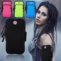 iphone jogging band оптовых-Чехол для спортивного повязки для бега для бега на 4-6 дюймов универсальный чехол для iphone X 7 8 6 XR