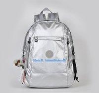 zig zag baskı sırt çantaları toptan satış-Erkekler madam Ultralight şerit fermuar su geçirmez Naylon maymun yıldız BASKıLıK Renkli cep sırt çantası Şehir Paketi ortak kullanımda Paketi K502-09