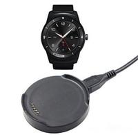 mikro usb beşiği toptan satış-Pil Şarj Şarj Cradle Dock Mikro USB Kablosu kablosu için LG W110 İzle R Urbane W150 Smartwatch