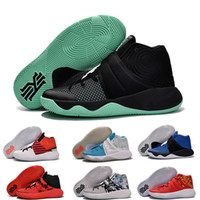 Wholesale Tie Up Balls - Hot sell High quality Kyrie Irving Shoes Men Basketball Shoes Retro Kyrie 2 Bright Crimson Tie Dye BHM Basket Ball Olympic Shoes Sneakers