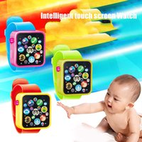 Wholesale early learning - Screen Wristwatches Digital Early Children Poems Stories Watch Toys Smart Learning Kids Watchworld