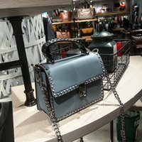 Wholesale Blue Contracts - Spring and summer new contracted single shoulder bag large capacity messenger bag.