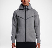Wholesale animal online - Autumn And Winter Sports Leisure Male Hooded Cotton Sweater New Fashion Brand Man s Coat Plus Size L XL