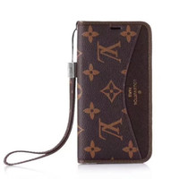 Wholesale iphone card case for sale - Top Quality Luxury Brand Phone Leather Cover for iphone X XR XS Max iphone plus plus Famous Brand Leather Phong Case for iphone