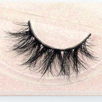 şerit kirpikleri toptan satış-Kozmetik göz güzellik araçları vizon kirpik uzantıları private label şerit lashes 3d vizon kirpiklere kirpik E11