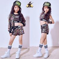 497598264a8e Children's Girls Dance Performance Clothes Children's Sequins Korean Street  Dance Hip-Hop Jazz Performance Costumes