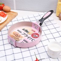 Wholesale pot stick resale online - Japanese cm Nonstick Pan Non Stick Cookware Frying Pan Saucepan Small Fried Eggs Pot General Use For Gas And Induction Cooker