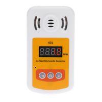 Wholesale Gas Leak Alarm Detector - Portable gas detector for carbon monoxide(CO) gas Mini CO analyzer meter with Sound and Light Alarm leak detector
