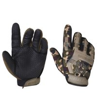 Wholesale wholesale military gloves - Army Military Tactical Gloves Paintball Airsoft Shooting Combat Outdoor Sport Anti Slip Bicycle Knuckle Full Finger Gloves