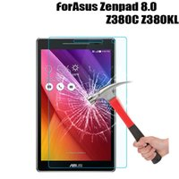 Wholesale asus zenpad tablets resale online - Ultra Clear Guard For ASUS ZenPad Z380C Z380KL Tablet Tempered Glass Film Screen Protector Protective Film Tablet PC