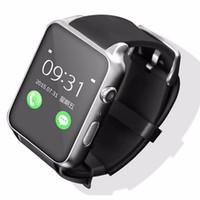 apple watch os оптовых-100% оригинал GT88 Bluetooth Smartwatch телефон наручные смарт-часы монитор сердечного ритма поддержка TF SIM-карты для apple IOS Android OS