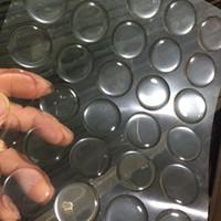 runde harz aufkleber großhandel-100 stücke 16/20 / 25mm Runde Transparent Klar Epoxidkleber Kreise Flaschenverschluss Aufkleber Harz Patch Punkte Flaschenverschlüsse Crafting DIY