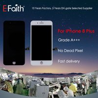 Wholesale free for sale - Hot Sale LCD For Iphone 8 Plus Grade A+++ Quality Compatile With IOS 11+ 6 Months Warranty + Free DHL Shipping No Dead Pixel