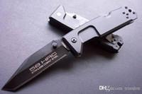 facas de espessura venda por atacado-Nova chegada EXTREMA RATIO FUCROM-II 4mm de espessura lâmina de faca tático presente de natal faca para o homem coleção faca 1 pcs
