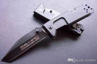 cuchillos de espesor al por mayor-Nueva llegada EXTREMA RATIO FUlCRUM-II Cuchillo táctico de 4 mm de grosor cuchillo de regalo de navidad para el hombre colección cuchillo 1 unids