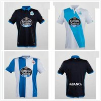 Wholesale Wholesale Quality Shirts - Top Thailand Quality Real Club Deportivo de La Coruna home Soccer Jerseys 17-18 season Lucas Emre Çolak Andone Luisinho football shirt