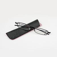 3024288f02ef0 Óculos de Leitura Retro Moda Resina Lente Óculos Mulheres Homens Óculos de  Metal Preto Full Frame Leitor de Olho + 1.0 ~ + 4.0 Força peso leve