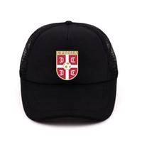 Boné Emblema Nacional de França Chapéu Verão Snapback Trucker Hat Cap Para Homens  Homens bonés e chapéus 2018 sport-cap-women b8b271db442