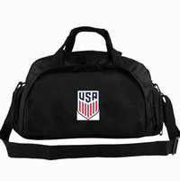 футбольные команды usa оптовых-США дорожная сумка Национальная большая сумка США Прохладный Футбольная команда рюкзак Футбол 2 использовать багаж Спортивная спортивная сумка Badge sling pack