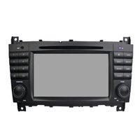 control de radio chino al por mayor-Reproductor de DVD del coche para Benz C-Class W203 7Inch 4GB Ram Octa core Andriod 8.0 con GPS, control del volante, Bluetooth, radio