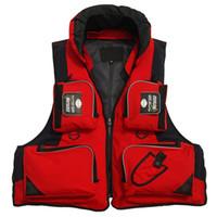 рюкзак из нейлона оптовых-Nylon Fishing Clothing  Lure Vest Women Men Backpack Life Vest Jackets Mulit-pocket Fishing Outdoor Camping Hiking Clothes
