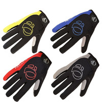 Wholesale breathable fitness gloves for sale - Group buy Cycling Gloves Male Fashion Breathable Bike Sport Whole Finger Glove Man Racing Motocross Fitness Accessories mo Ww