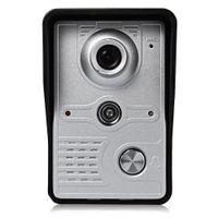 Wholesale intercom doorbell outdoor for sale - Group buy SY812MKW12 Inch TFT Screen Hands Free Intercom Doorbell with Rain proof Design Outdoor Station Colour Wireless Video Door Phone