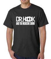 çeşitli renk toptan satış-Dr kanca ve ilaç gösterisi T-Shirt hoody çeşitli renkler Mens 2018 moda Marka T Gömlek O-Boyun% 100% pamuk T-Shirt