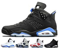 Wholesale fishing infrared - 2018 Cheap 6 6s Mens Basketball shoes man unc Black Cat Infrared sports blue Maroon Olympic Alternate Hare Oreo Angry bull Sports sneakers