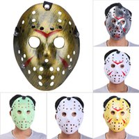 Wholesale jason face mask - 11 Designs Archaistic Jason Halloween Full Face Antique Killer Mask Party Decoration Masquerade Masks Craft Party Favor Cosplay