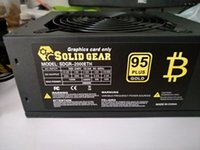 Wholesale Power Supply Gold - 95 Plus Efficiency 1600W Modular PC Power Supply 12V 24PIN 8PIN For Miner Mining High Quality Computer Power Supply For BTC 1pc lot