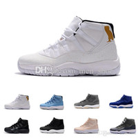 Wholesale Owl Canvas - 2017 Air 11 XI White Black Cat Owl Basketball Shoes For Men,High Quality Mens s 11s Sports Sneakers Trainers Shoe 7-13