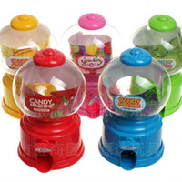 Wholesale teaching machine - Cartoon Lovely And Vivid Piggy Bank Mini Candy Machine Children Intelligence Twisted Candy Machines Teaching Cognitive Toys 4rj W