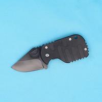 beste taschenmesser für geschenk großhandel-Drop Versand Plus Subcom Schwarz Edelstahl Klappmesser EDC Taschenklappmesser Messer Beste Geschenk Messer